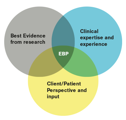 Drie peilers Evidence Based Practice